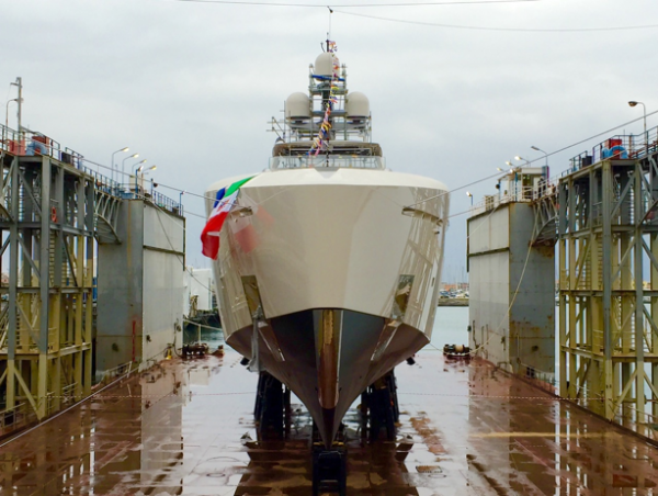 Image for article Tankoa launches 50m M/Y 'Vertige'