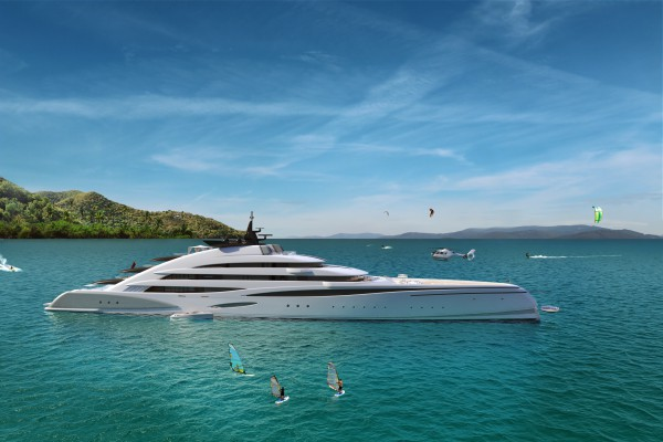 Image for article Oceanco unveils 120m Amara Concept