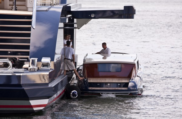 Image for article Superyacht tender garages