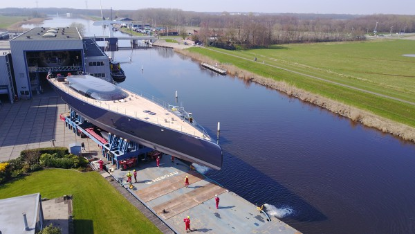 Image for article Royal Huisman launches 58m 'Ngoni'