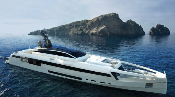 Image for article Rossinavi launches 49m M/Y Aurora