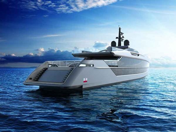 Image for article 53m Saetta: the new fast design from Tankoa