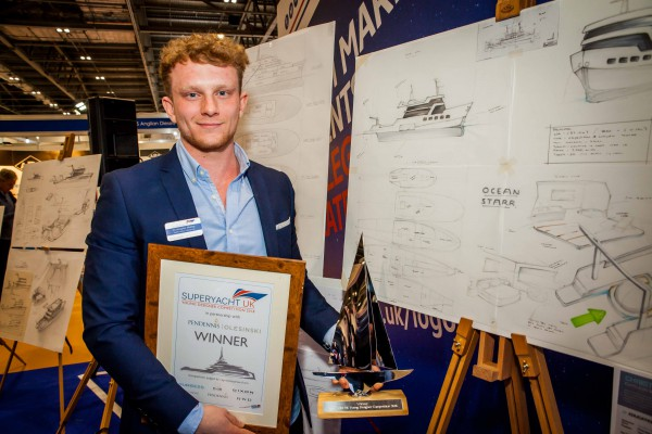 Image for article Superyacht UK Young Designer Competition winner announced
