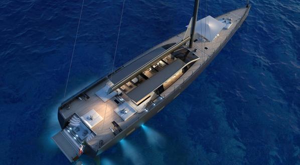 SuperyachtNews.com - Fleet - Perini Navi sells 42m hybrid sailing yacht