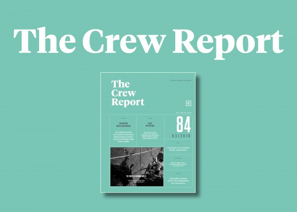 Image for article The Crew Report: Issue 84 coming soon
