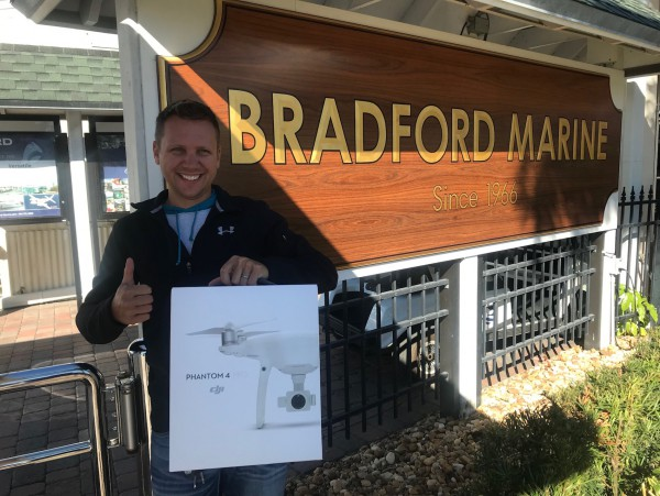 Image for article Bradford Marine announces Drone Giveaway winner
