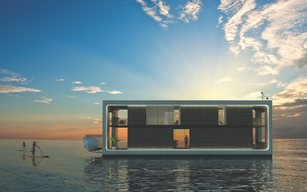 Image for article A new solution for living at sea?