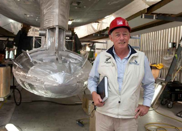 Image for article Farewell to a Kiwi boatbuilder