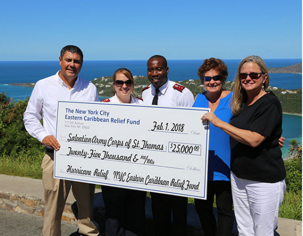 Image for article IGY drives donations for the Caribbean
