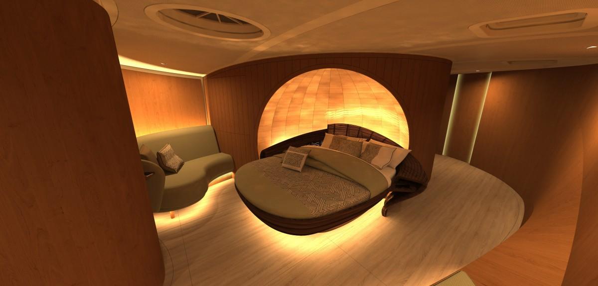 Superyachtnews Com Design Spirit Yachts Unveils Striking Sailing Yacht Interior