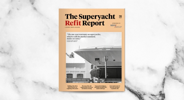 Image for The Superyacht Refit Report