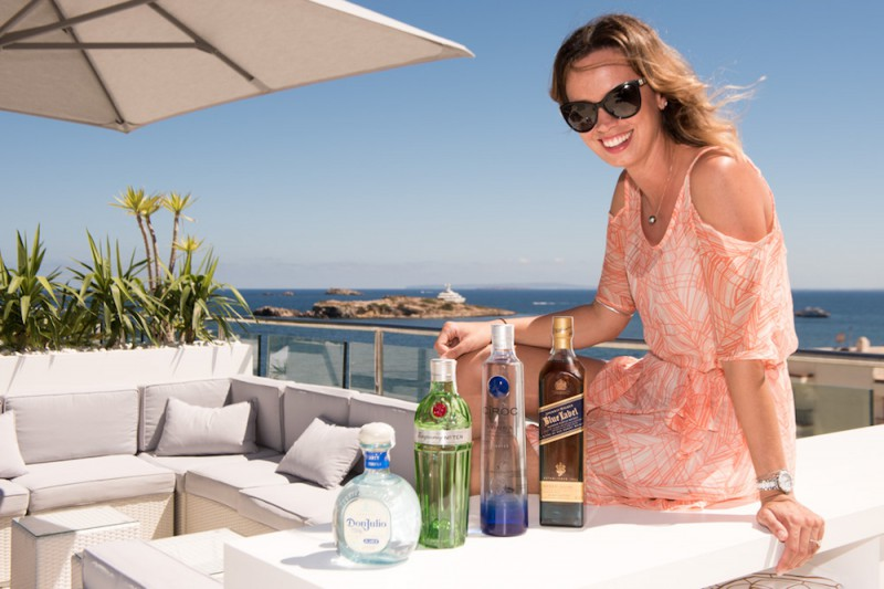 Jasmin Rutter offers cocktail training to yacht crew
