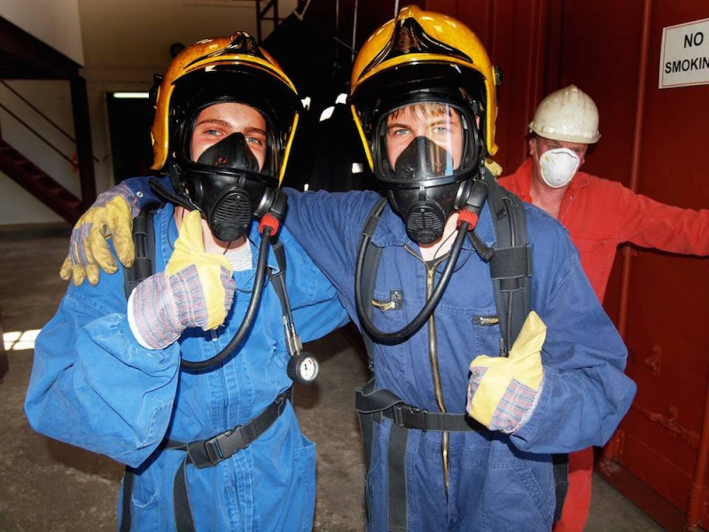 Superyacht crew training