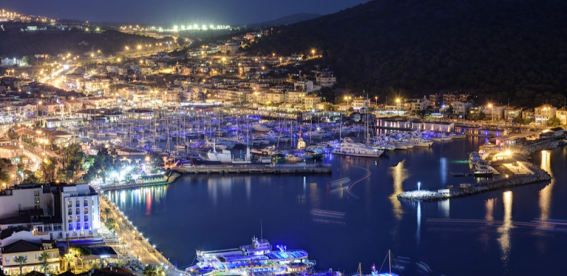 Cesme Marina Turkey