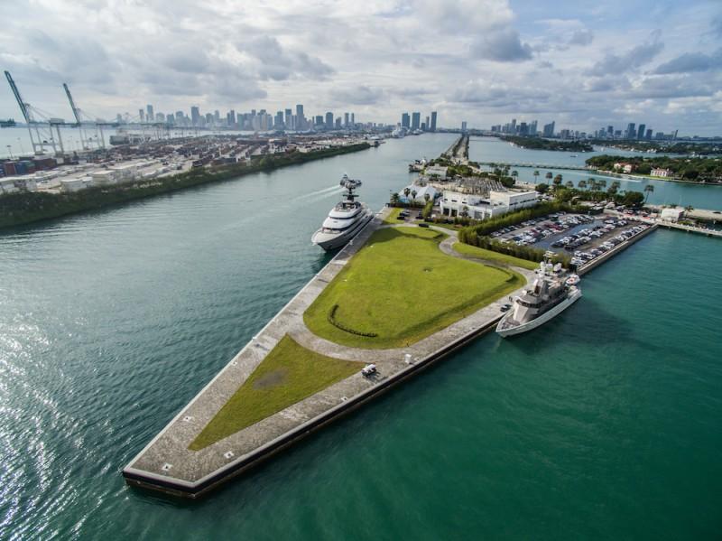 One Island Park superyacht marina IGY Marinas Miami