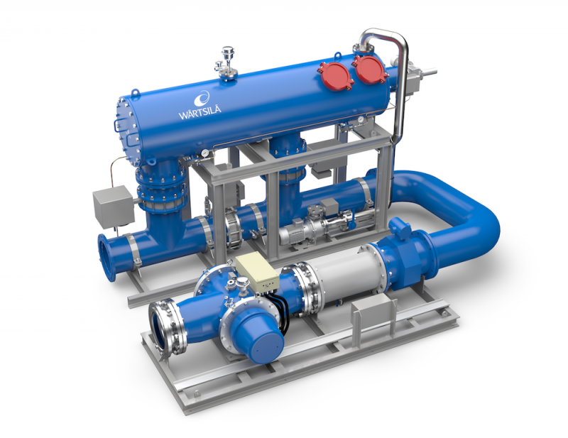 Wartsila Aquarius UV Ballast Water Management System
