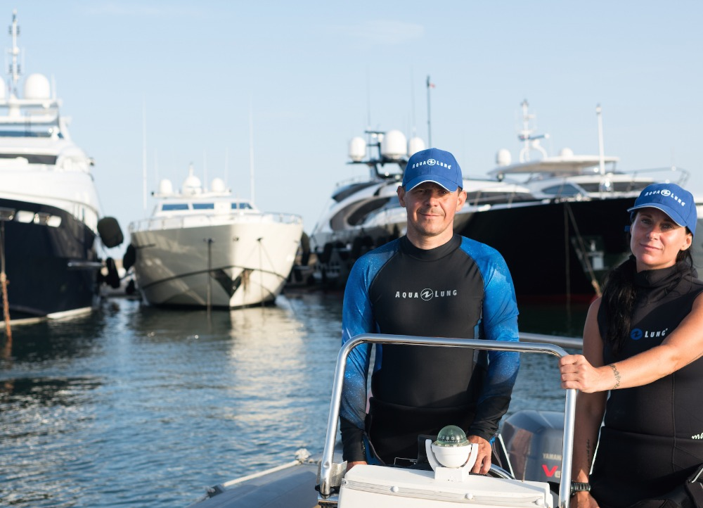 Image for article Superyacht scuba diving: untapped potential