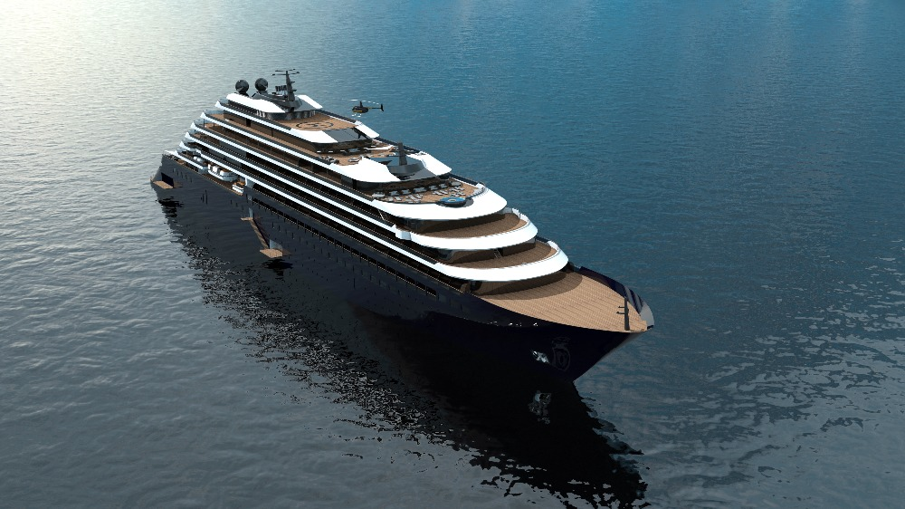 Image for article Superyacht vs luxury cruise ship building