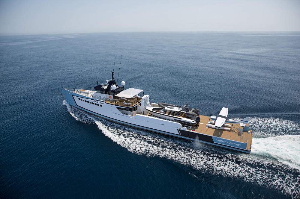 Image for article Damen introduces M/Y 'Power Play'