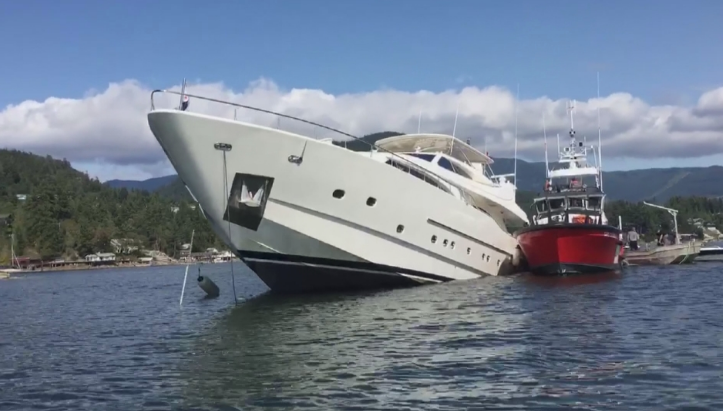 Image for article Can superyachts act as salvage vessels?