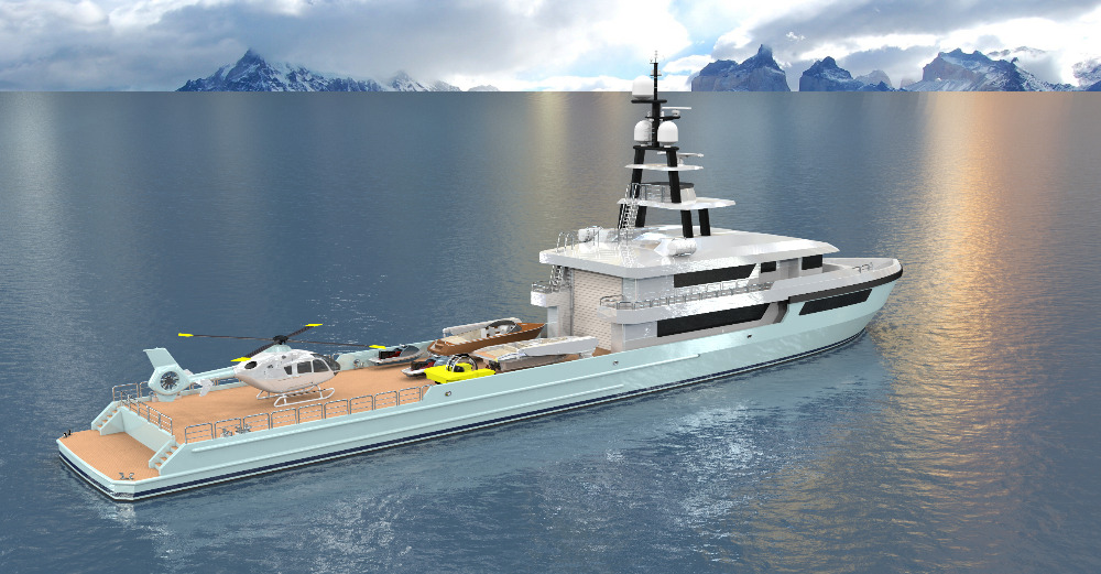 Image for article van Aller reveals plans for 61m support vessel conversion