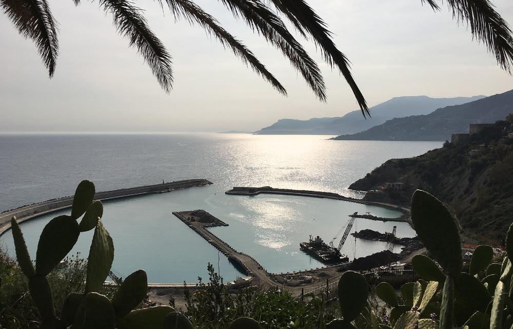 Image for article Work progresses on Cala del Forte marina