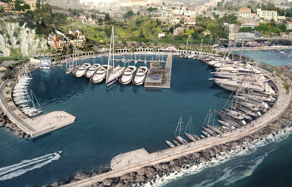 Image for article Work progresses on Cala del Forte marina