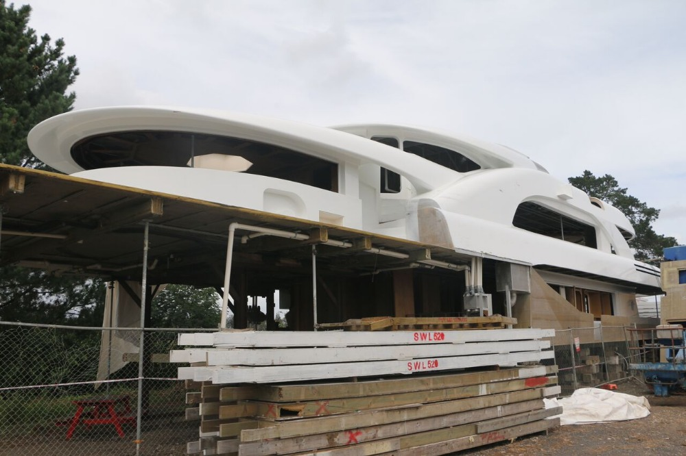 Image for article Sensation Yachts vessel for sale with demolition group