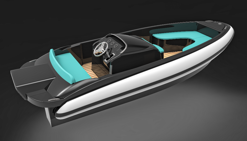 Image for article Naumatec's electric superyacht tender