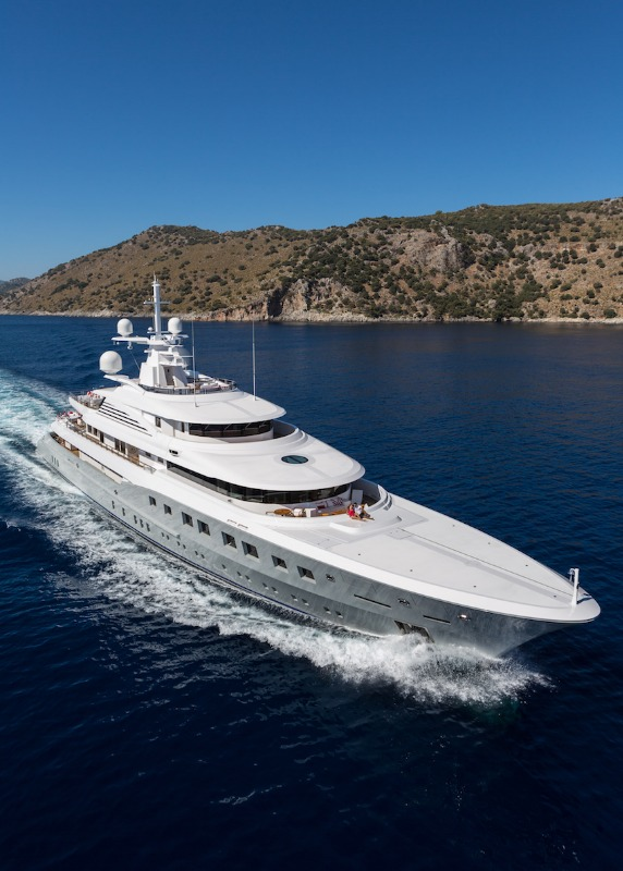 Image for article Captain interview: M/Y 'Axioma'