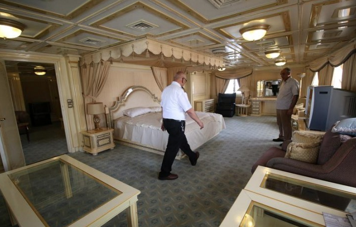 Image for article Saddam Hussein's presidential yacht repurposed as hotel