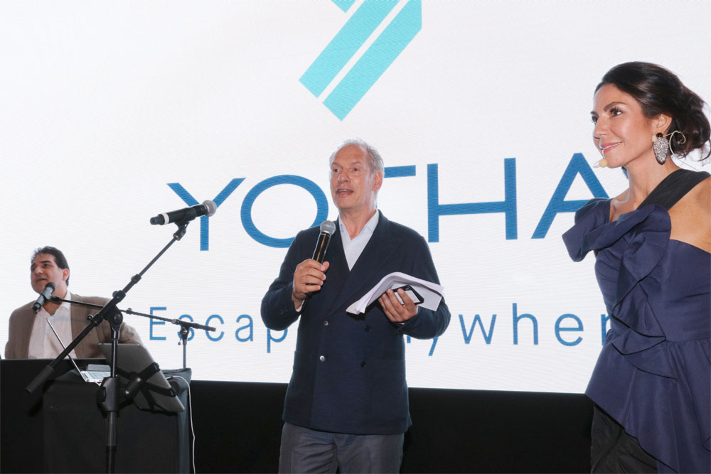 Image for article It's official: Yotha launches at Yacht Club de Monaco