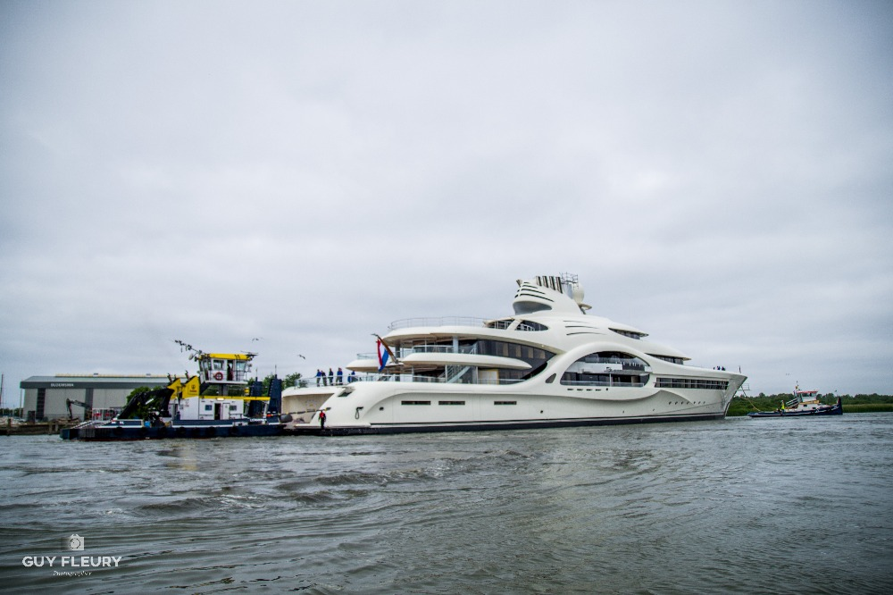 Image for article  Feadship launches 110m superyacht