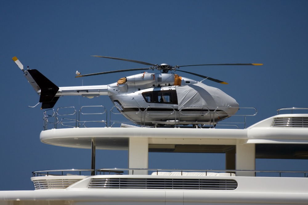 Image for article A helicopter management solution for superyachts