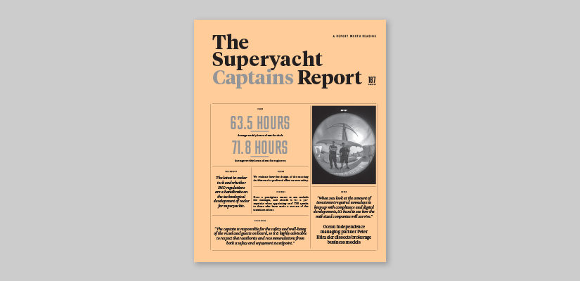 Image for article The Superyacht Captains Report