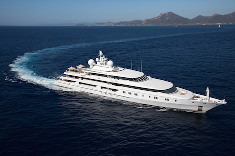 Image for article 'Healthy interest' in the auction of 95m M/Y 'Indian Empress'