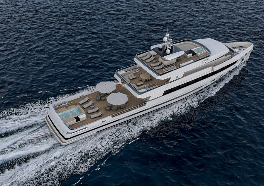 Image for article Rosetti Superyachts unveils new remote navigation system