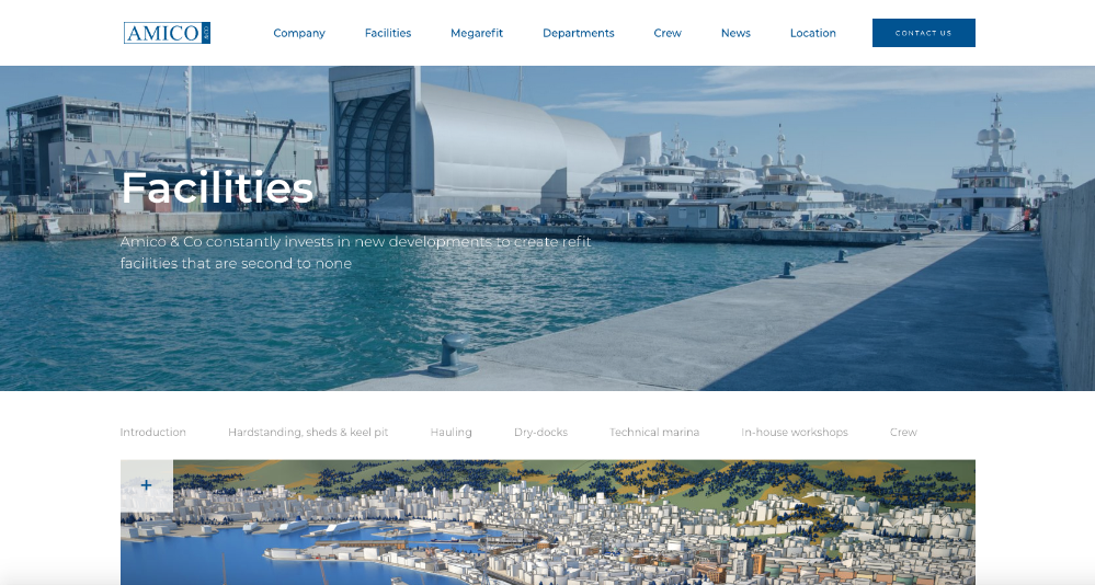 Image for article Amico & Co website gets a fresh new look