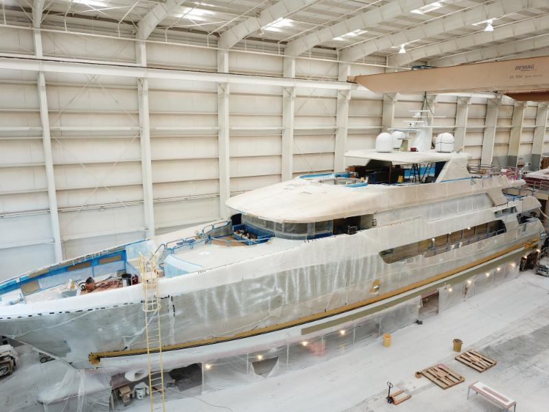 Image for article Christensen Shipyards sells Hull 38 and looks to the future