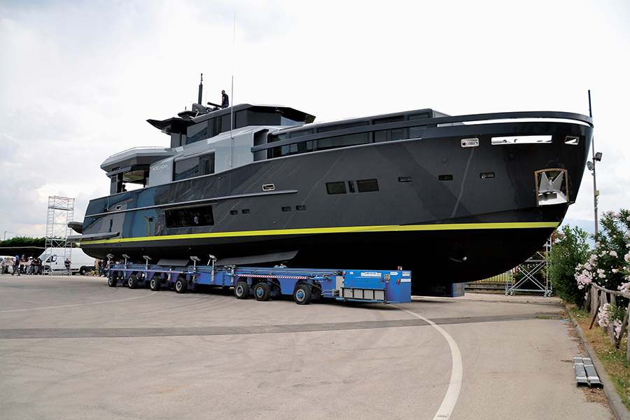 Image for article Arcadia Yachts delivers A105 unit