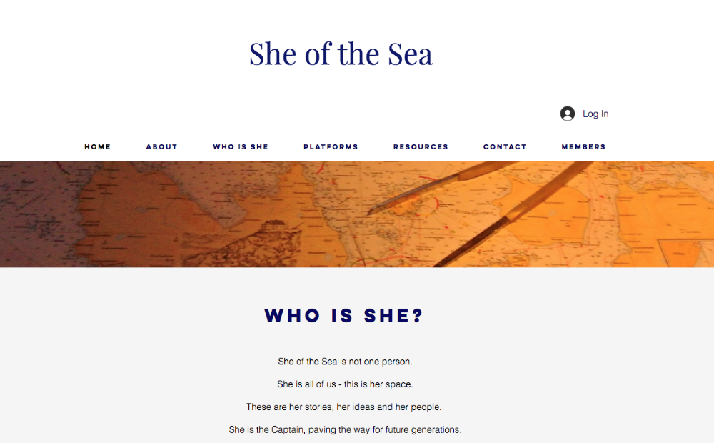 Image for article She of the Sea