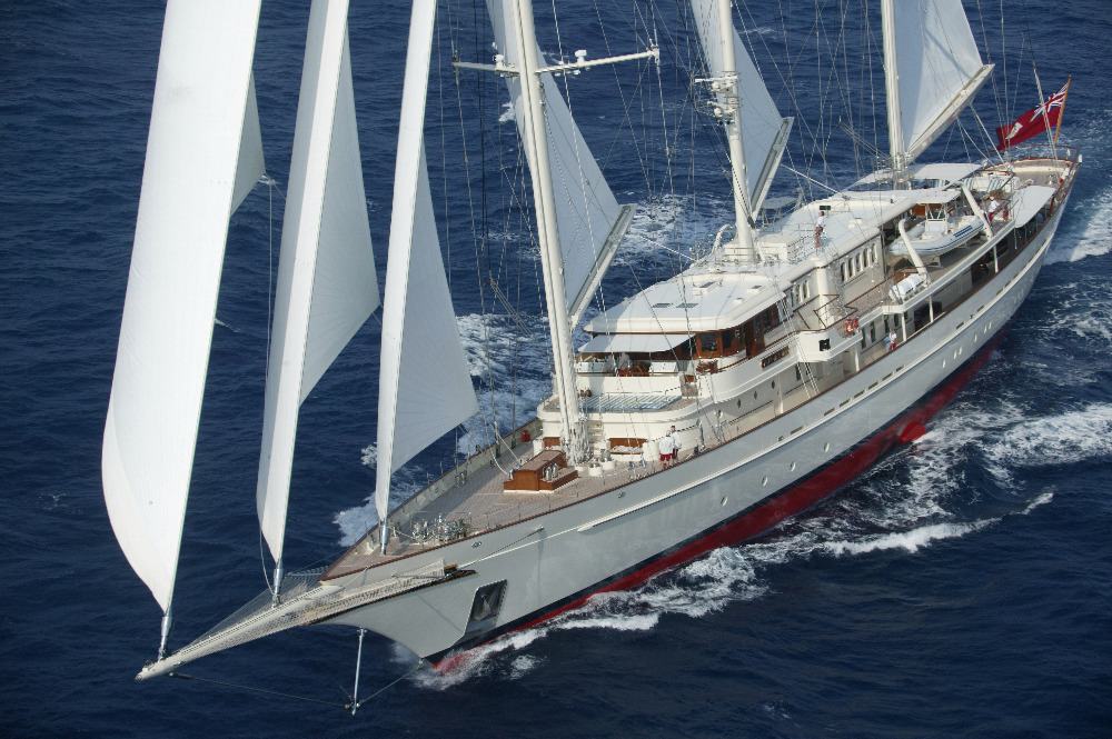 Image for article Huisfit to host two of the world's largest sailing yachts