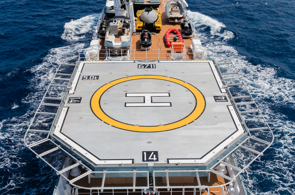Image for article What influences the positioning of a helipad?