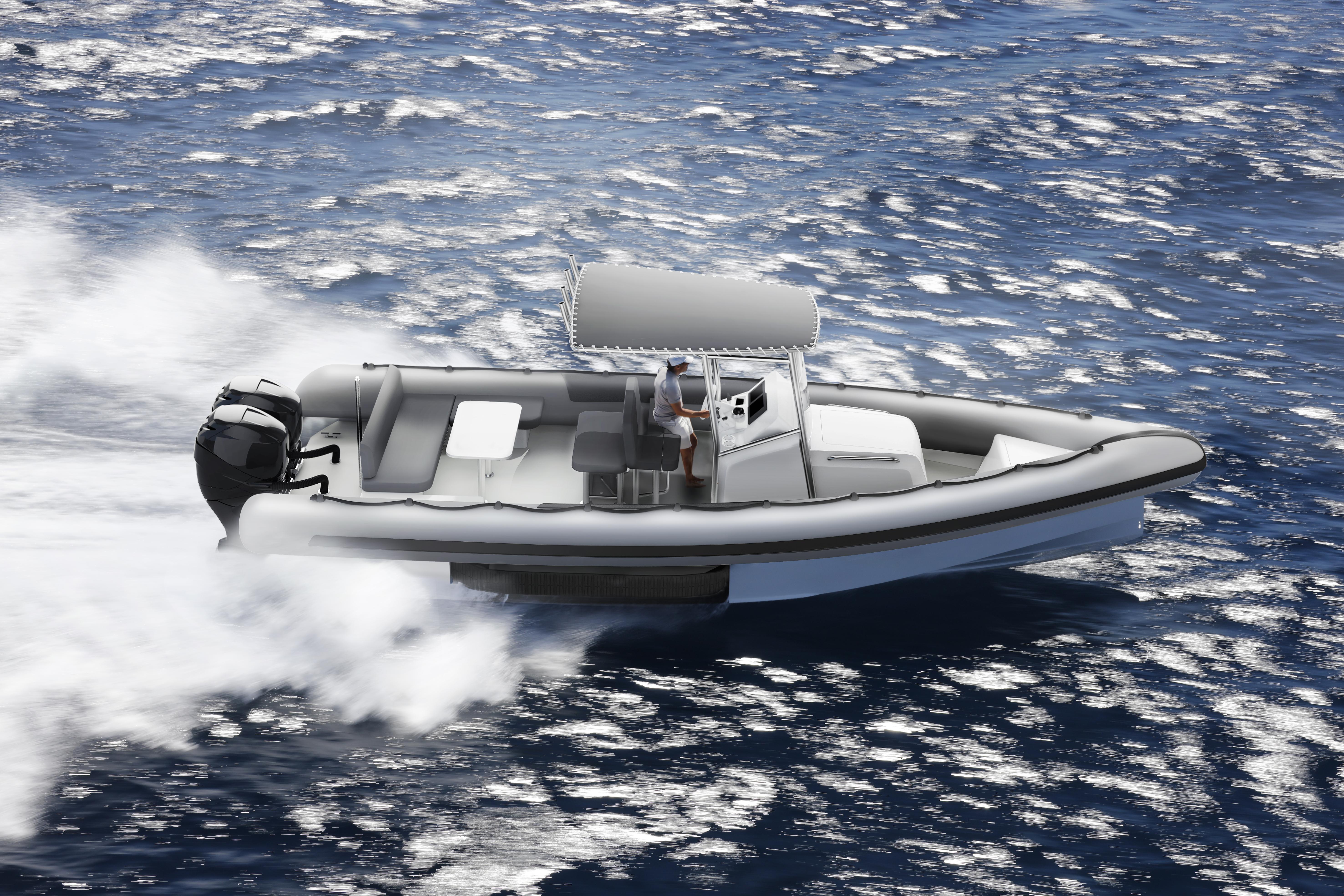 Image for article Iguana Yachts unveils new amphibious rib