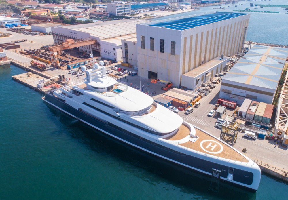 SuperyachtNews com - Fleet - Made in China and built with Pride