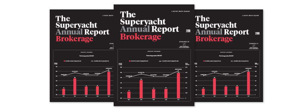Image for article The Superyacht Annual Report: Brokerage out now