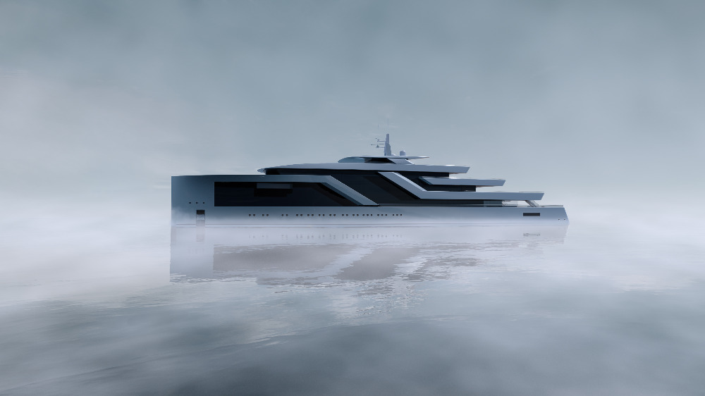 Image for article Isaac Burrough Design unveils new 100m concept