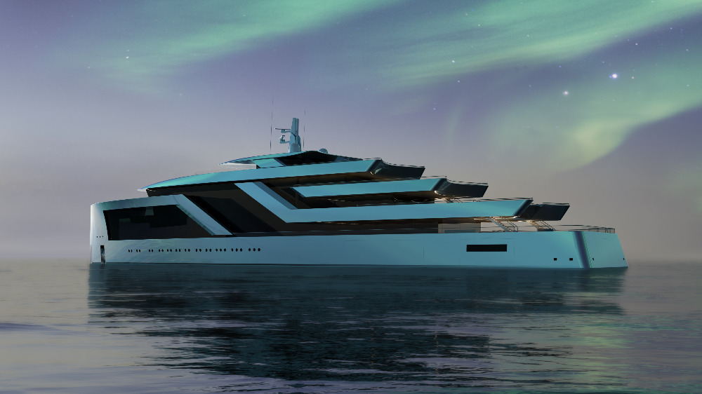 Image for article Isaac Burrough Design unveils new 100m concept