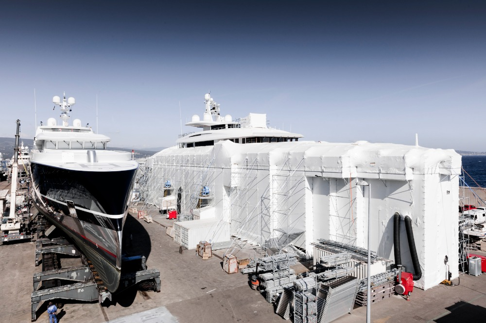 Image for article Share your perception of the Mediterranean refit market