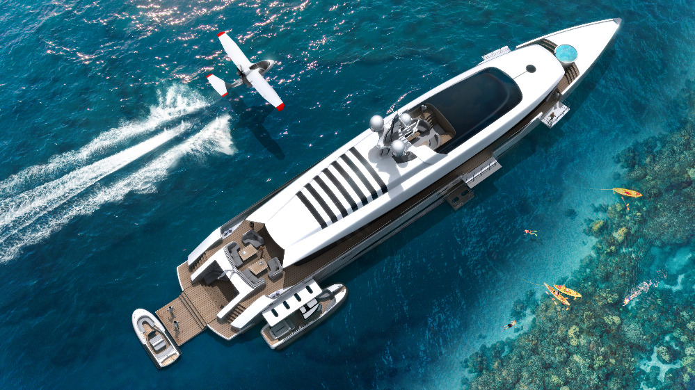 Image for article ThirtyC presents new 53m superyacht concept